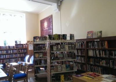 В библиотеке Walden_School