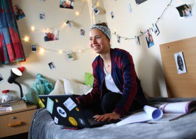 Boston College комната в общежитии