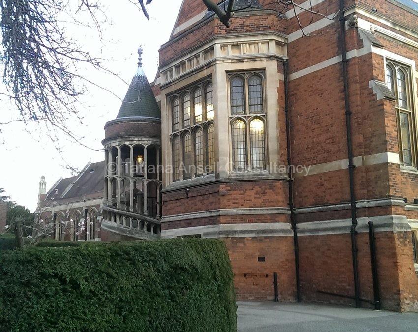 Фоторепортаж о посещении британской школы Leys School