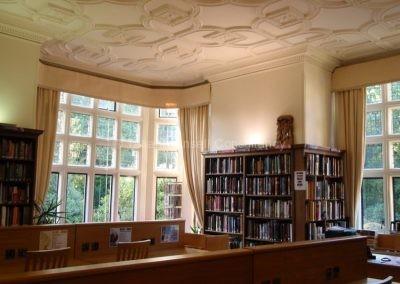 В библиотеке  Woldingham School