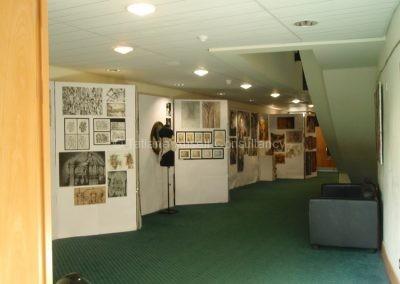 В департаменте искусств Woldingham School