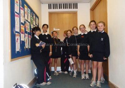 Ученицы Woldingham School