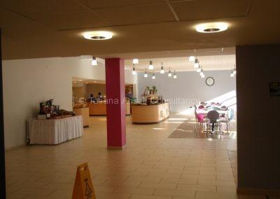 Кафетерий в Woldingham School