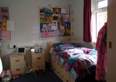 Комната в общежитии для девочек Woldingham School