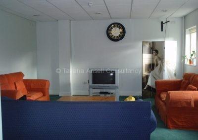 Общая комната в общежитии для девочек Woldingham School
