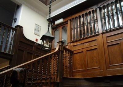 В самом старом здании Woldingham School