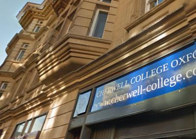 Вход в Cherwell College