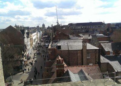 Вид из окна Червелл Колледж