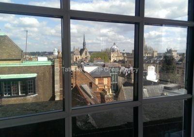 Вид из окна Cherwell College