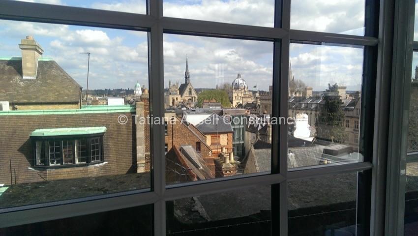 Фоторепортаж о посещении Cherwell College в Оксфорде