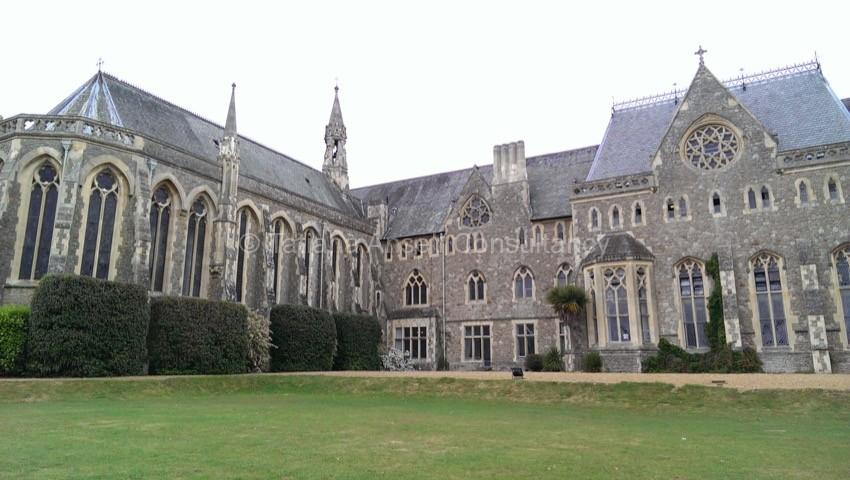 Фоторепортаж о посещении британской школы St Edmund's School Canterbury