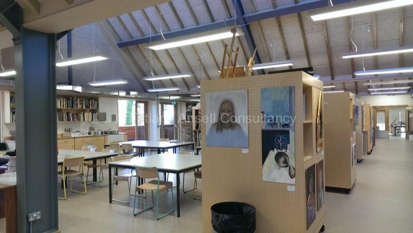 Фоторепортаж о посещении британской школы Bedales School