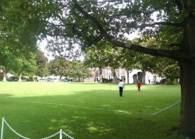 На территории Dover College