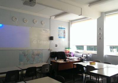 В классной комнате Дувр Колледж