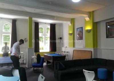 Общая комната в общежитии для мальчиков Dover College