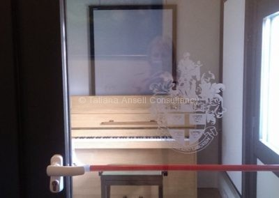 Музыкальная комната со звукоизоляцией в Дувр Колледж
