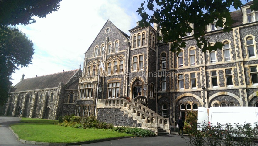 Фоторепортаж о посещении английской школы Dover College