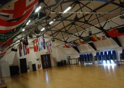 Спортивный зал в Dwight School