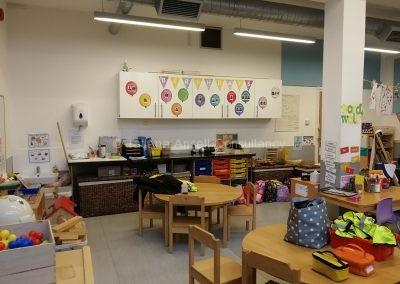 Классная комната в начальной школе ICS