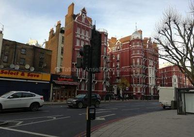 Район Лондона, в котором расположено здание старшей школы  ICS