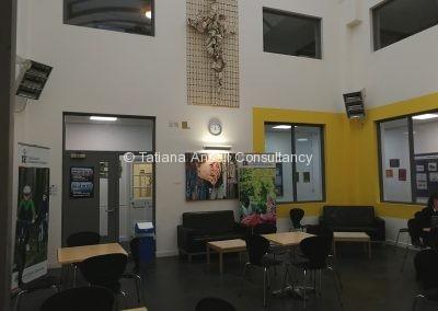 Кафе в Ashford School