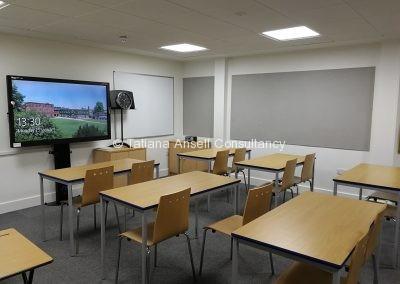 Классная комната в Ashford School