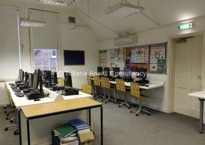 Компьютерный класс в Ashford School
