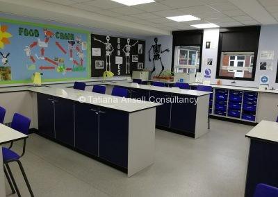 Лаборатория в Ashford School