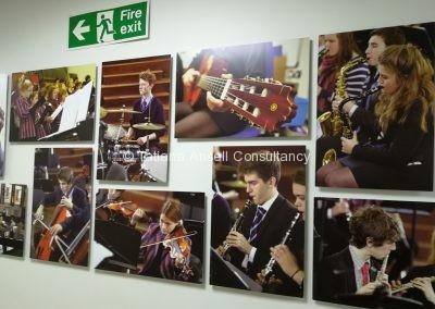 Фотографии с музыкантами Ashford School