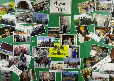 Поездки факультета физики в Ashford School