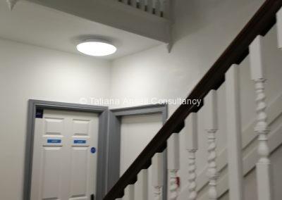 Лестница в общежитии Ashford School