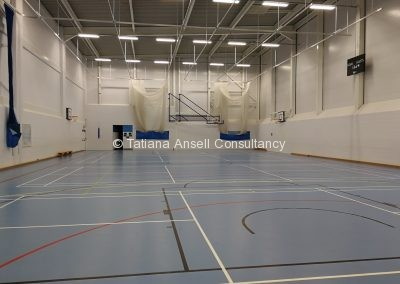 Спортивный зал Ashford School