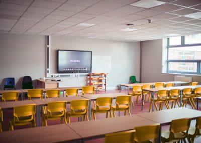 Классная комната в здании для занятий в группах