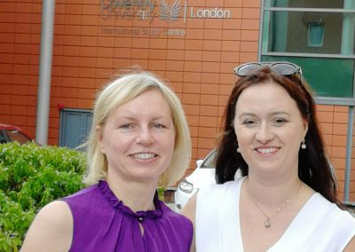 С представителем Study Group, предлагающей программы фаундейшн для британских университетов