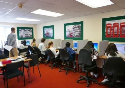 Компьютерная лаборатория в Harrow House