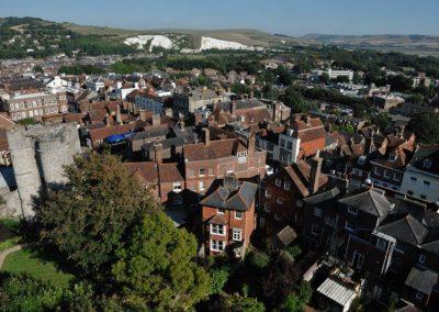 East Sussex College вид на город Lewes