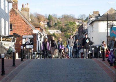 East Sussex College студенты в городе Lewes