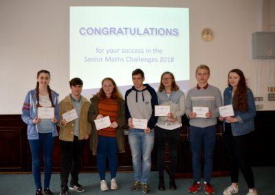 Shrewsbury Colleges Group - команда колледжа на олимпиаде по математике