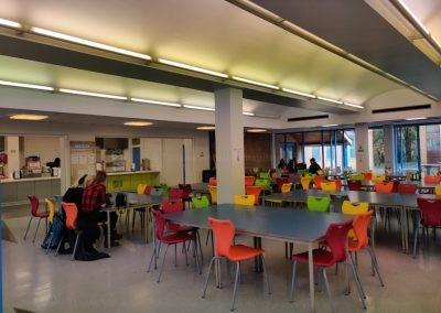 Кафетерий в East Sussex College