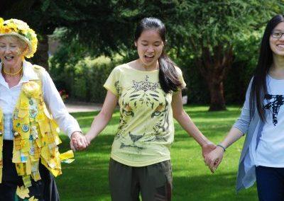 Внеклассные занятия в летнем лагере Etherton