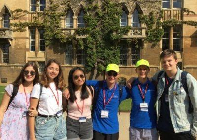 Поездка в Оксфорд в летнем лагере Etherton